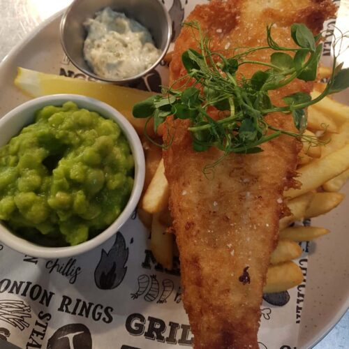Lunch Fish & Chips